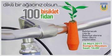 24 MART - 100 BİSİKLET 100 FİDAN