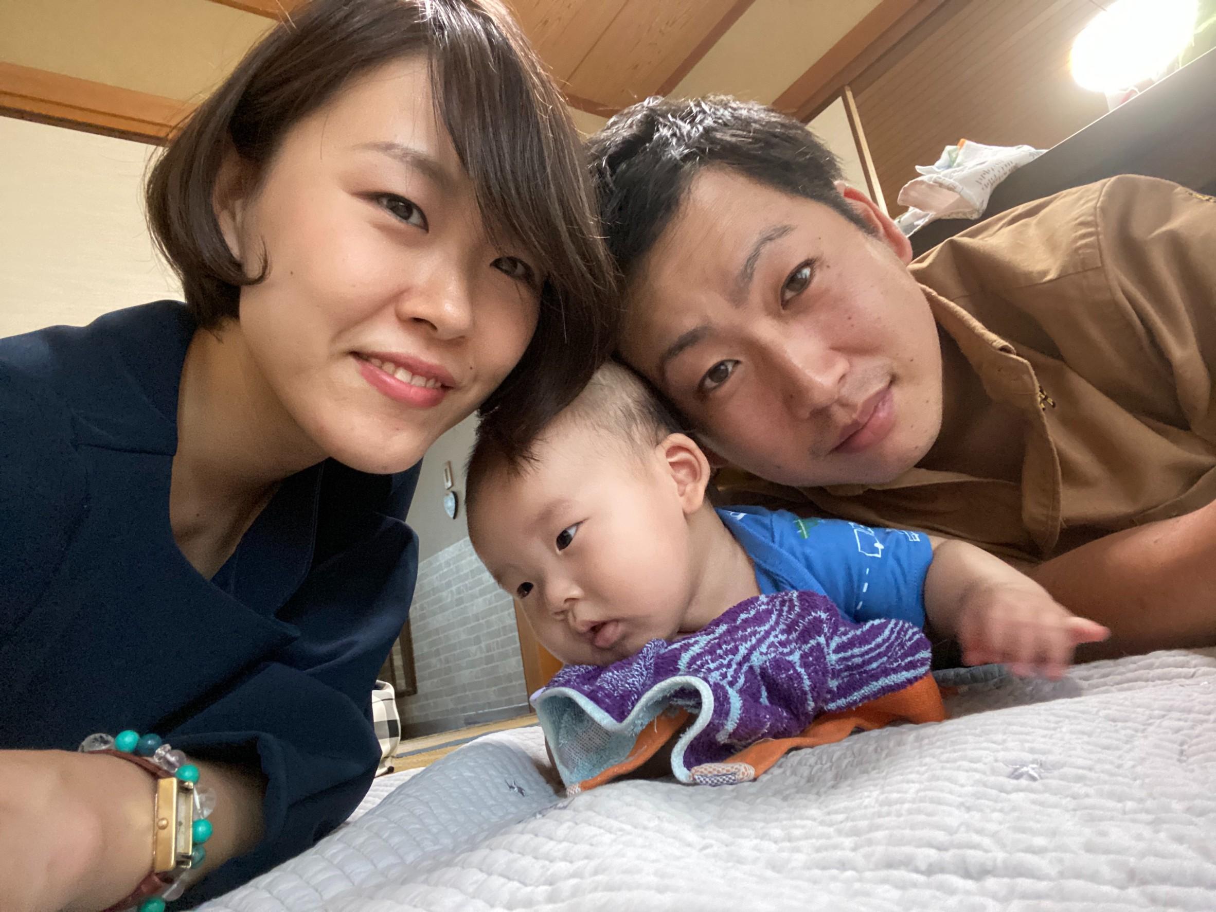 宮田太郎さん家族