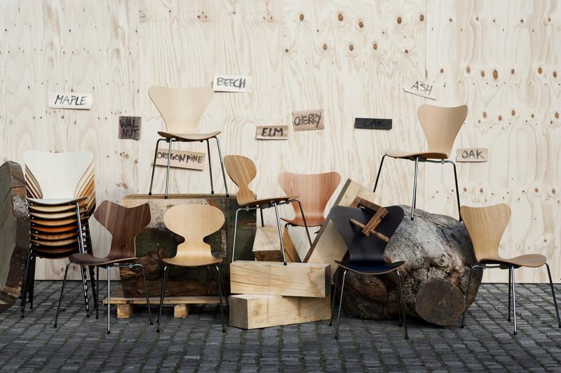 北欧インテリアづくりのポイント①:木の温かみを感じる家具