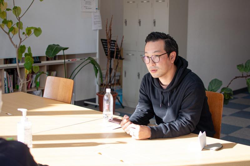 シンス株式会社 代表取締役・越水大輔