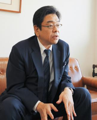 株式会社山本工作所  代表取締役社長 山本和男