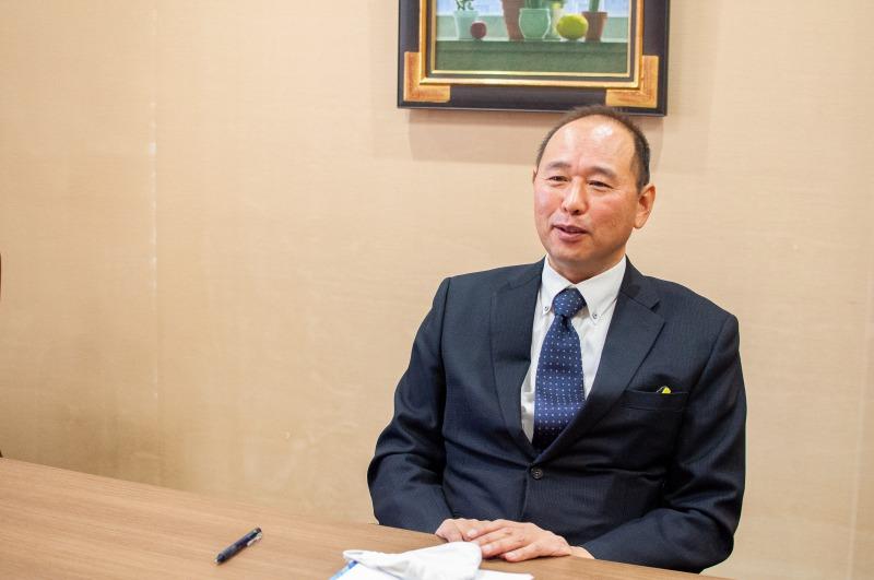 人材紹介事業部部長の鞍垣和広さん