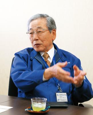 株式会社岩田産業グループホールディングス  代表取締役会長兼社長 岩田陽男