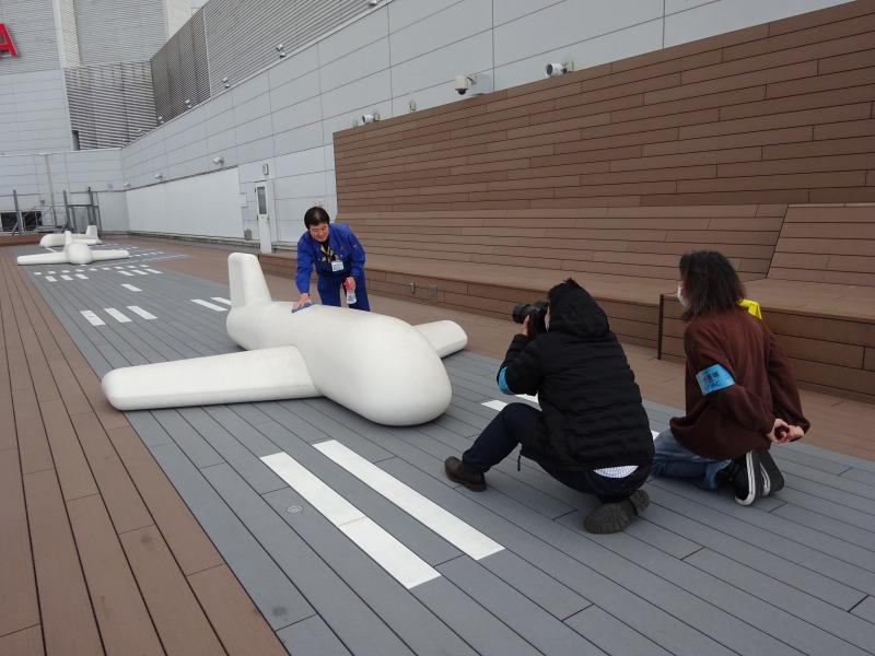 福岡空港撮影風景