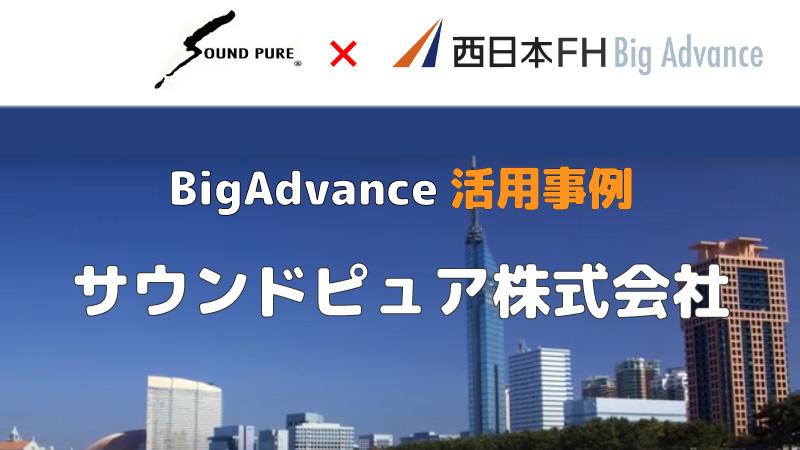 【活用事例】BigAdvanceで商品紹介ページを低価格で作成。 |  サウンドピュア株式会社