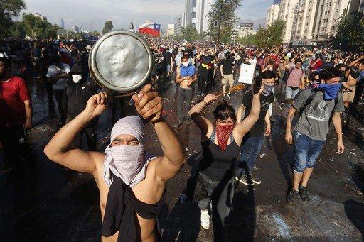 Riots and economics in Chile