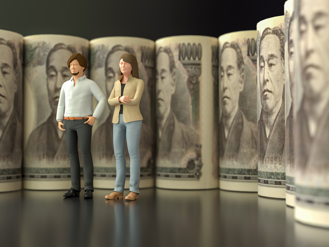 40代の世帯別・男女別の平均貯金額は?